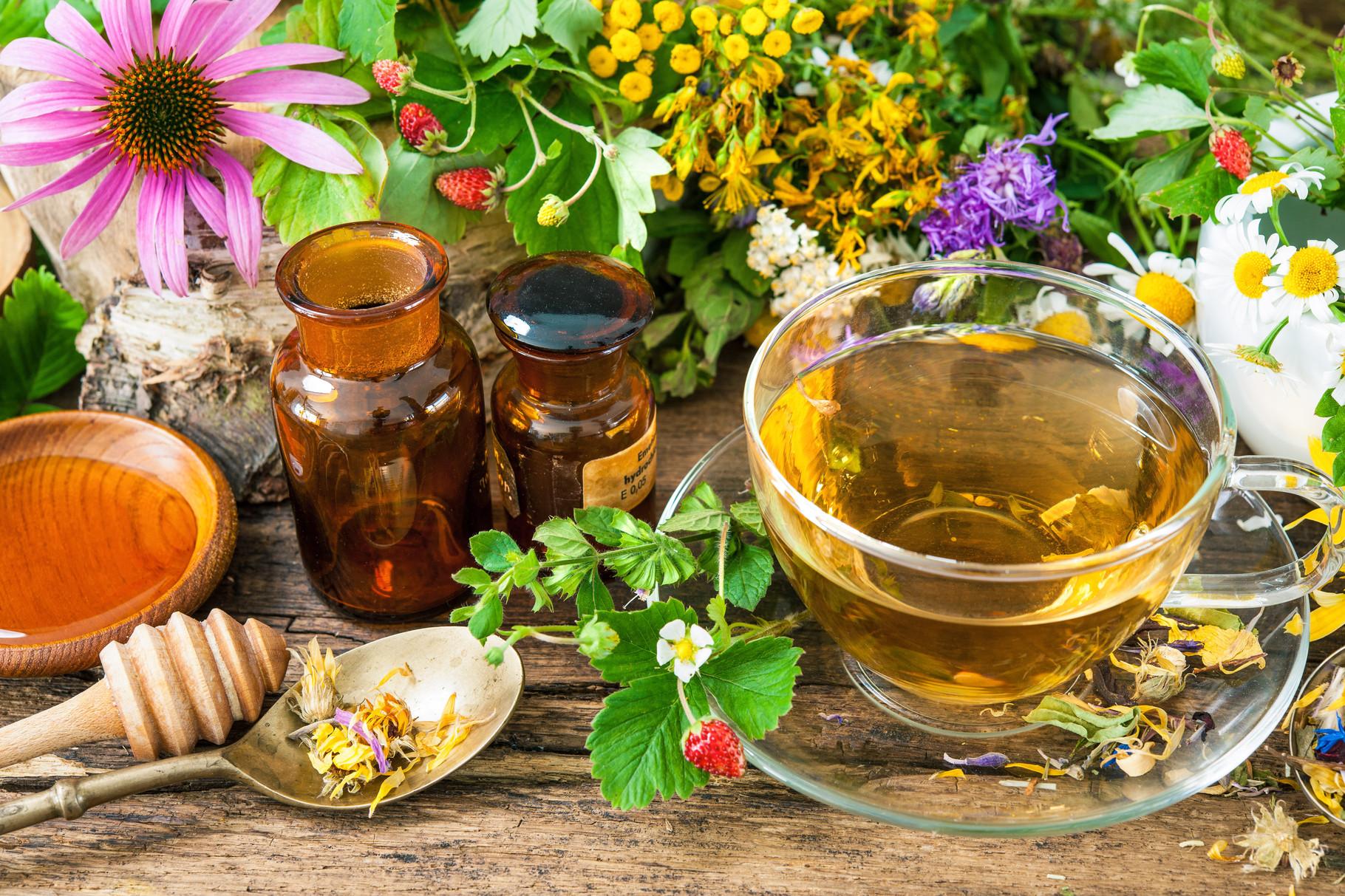 Целебный мед с травами - лекарственный рецепт приготовления